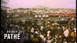 Download Accra - Ghana Acclaims Queen And Duke (1961) Video