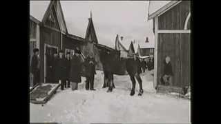 Download Åsele marknad - film från Bio Nisse - före 1936 Video