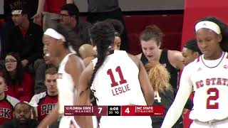 Download 2018.02.01 #10 Florida State Seminoles at NC State Wolfpack Women's Basketball Video