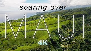 Download ″SOARING OVER MAUI″ [4K] Hawaii Ambient Nature Relaxation Drone Film w Music | DJI Inspire2 - 80 Min Video