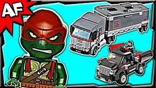 Download BIG RIG SNOW GETAWAY 79116 Lego TMNT Teenage Mutant Ninja Turtles Stop Motion Set Review Video