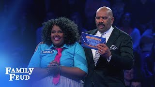 Download Funny Gals Fast Money! | Celebrity Family Feud Video