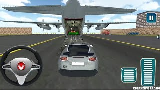 Download Airplane Pilot Car Transporter Simulator 2017 - Android GamePlay FHD Video