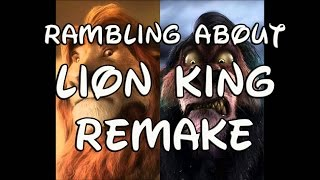 Download Rambling About Lion King Remake Video