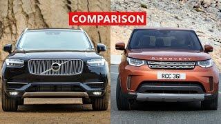 Download 2017 Land Rover Discovery vs 2017 Volvo XC90 Comparison - INTERIOR, EXTERIOR, TEST DRIVE Video