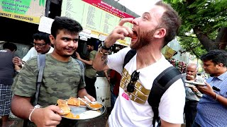 Download American Reacts to 55 INDIAN STREET FOOD DISHES Video
