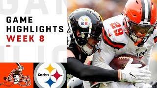 Download Browns vs. Steelers Week 8 Highlights | NFL 2018 Video