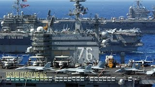 Download High Alert: For The First Time In 13 Years, U.S. Deploys 7 Aircraft Carriers Simultaneously Video