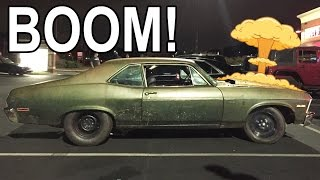 Download Twin Turbo Chevy EXPLODES Street Racing! Video