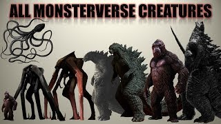 Download 30 Monsterverse Titans and Creatures Size Comparison Video