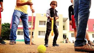 Download CHOTU KA GAME | छोटू की हॉकी | Khandesh Comedy Video Video