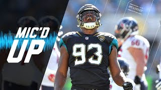 Download Calais Campbell Mic'd Up vs. Texans ″He Saw Me and His Eyes Got Big″   NFL Sound FX Video