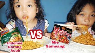Download Mie Samyang Vs Indomie Goreng Aceh Video