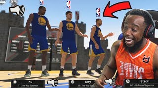 Download Trash Talking With NBA Superstars Curry And Durant In The Park! NBA 2K19 Park | Court Conquer Video