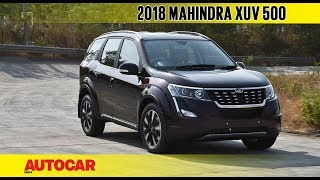 Download 2018 Mahindra XUV500 Facelift | First Drive Review | Autocar India Video