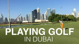 Download Golf in Dubai - The Only Way to Play Golf, including Night Golf! Video