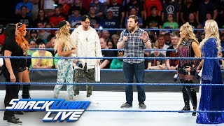 Download Daniel Bryan makes a decision regarding the Women's Money in the Bank: SmackDown LIVE, June 20, 2017 Video