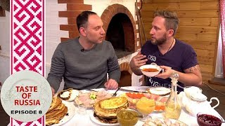 Download 'Blini' bonanza: Making real Russian pancakes in a real a Russian stove - Taste of Russia Ep.8 Video