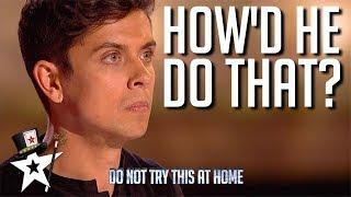 Download Illusionist Finalist Puzzles Judges on Britain's Got Talent 2019 | Magicians Got Talent Video