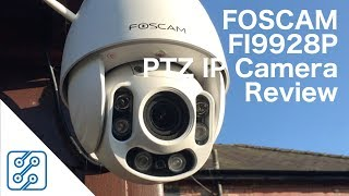Download Foscam FI9928P Outdoor Wireless PTZ Camera Review Video