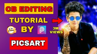 Download HDR effect + change background || Real cb editing || Edit Like Photoshop || Picsart Editing Tutorial Video