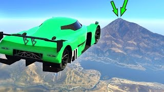 Download FLY 30 MILES WITH A CAR! (GTA 5 Funny Moments) Video