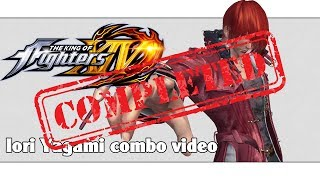 Download KoF XIV: Iori Yagami combo video (FINAL VERSION) (ver. 2.01) Video
