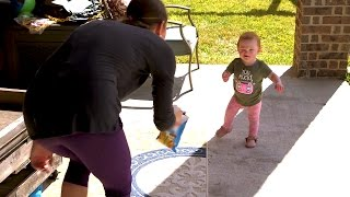 Download Hazel is THIS CLOSE to Taking Her First Steps! Can She Do It? | OutDaughtered Video