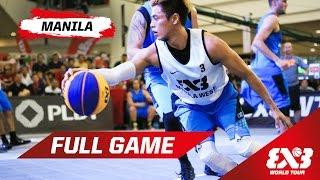 Download Manila West (PHI) vs Longshi (CHN) - Quarter Final - Full Game - Manila - 2015 FIBA 3x3 World Tour Video