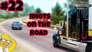 Download American Truck Simulator Multiplayer: Idiots on the Road | Random & Funny Moments | #22 👻 Video