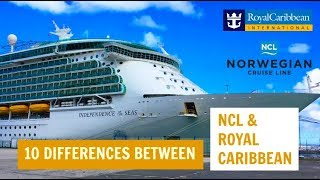 Download 10 differences between NCL and Royal Caribbean Video