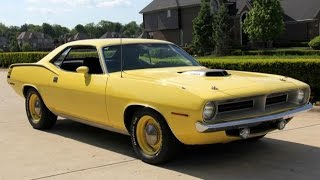 Download 1970 Plymouth Cuda For Sale Video