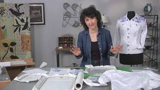 Download Add pizzazz to a jean jacket on It's Sew Easy with Joanne Banko (1811-1) Video