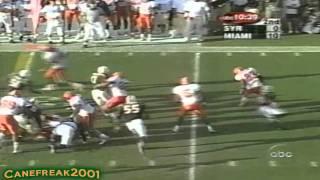 Download 2001 Miami Hurricanes vs Syracuse Highlights Video