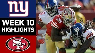 Download Giants vs. 49ers | NFL Week 10 Game Highlights Video