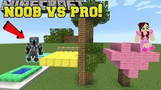 Download Minecraft: NOOB VS PRO!!! - BUILD BATTLE PRO TEAM! - Mini-Game Video
