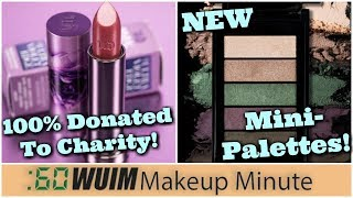 Download Urban Decay's Outspoken Vice Lipstick is COMING! + New Mini Palettes from L'Oreal! | Makeup Minute Video