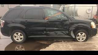 Download 2009 Chevrolet Equinox LT right side collision time lapse repair Video