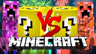 Download Minecraft: NEW YEAR LUCKY BLOCK CHALLENGE | Firework Creeper Battles!! Video