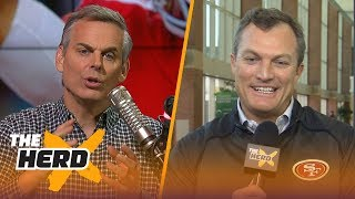 Download John Lynch on the 2018 NFL draft, Talks potential targets | THE HERD Video