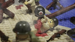 Download LEGO WW2 BATTLE: NORMANDY D-DAY LANDING - LEGO SAVING PRIVATE RYAN Video