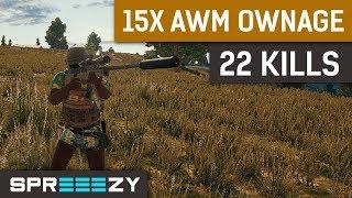 Download 22 Kills 15x Scope AWM OWNAGE Video