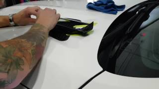 Download How to vinyl wrap trim pieces using pre stretch. By @CKWRAPS ckwraps.ca Video