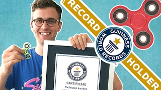 Download We Broke The Fidget-Spinning World Record Video