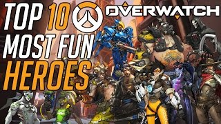 Download Overwatch: Top 10 Most Fun Heroes To Play Video