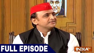Download Akhilesh Yadav in Aap Ki Adalat (Full Interview) | India TV Samvaad on Yogi Govt's 1 year Video