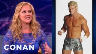 Download Amy Schumer Used To Date A Pro Wrestler - CONAN on TBS Video