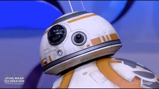 Download BB-8 droid from The Force Awakens rolls out on stage at Star Wars Celebration Anaheim Video