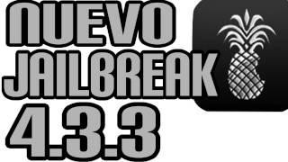 Download NUEVO JAILBREAK 4.3.3 y 4.3.2 IPOD IPHONE IPAD WIN Y MAC Video