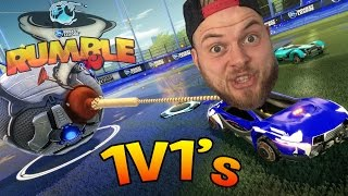 Download SquiddyPlays - ROCKET LEAGUE RUMBLE! - 1v1 W/Speedy - #2 Video